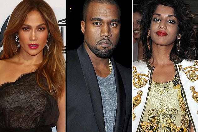 Jennifer Lopez Kanye West M.I.A.