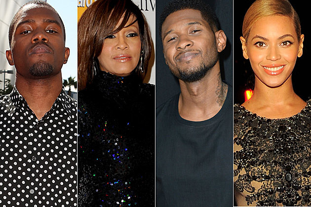 Frank Ocean Whitney Houston Usher Beyonce