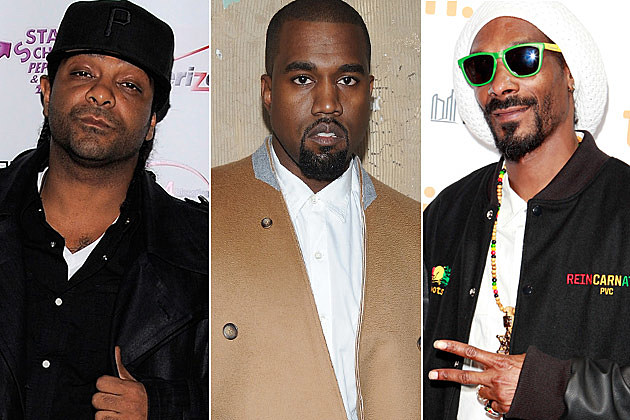 Jim Jones Kanye West Snoop Dogg