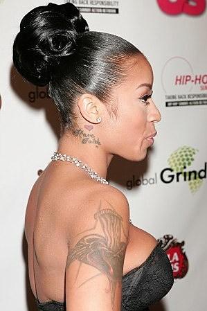 It S Keyshia Cole S Tattoo
