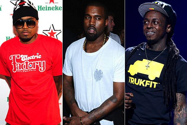Nas Kanye West Lil Wayne