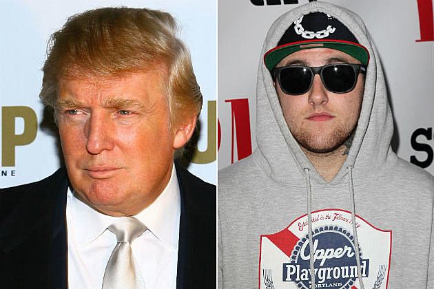 Donald Trump Mac Miller