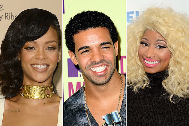 Rihanna, Drake, Nicki Minaj Among Billboard's Top Earners in 2012