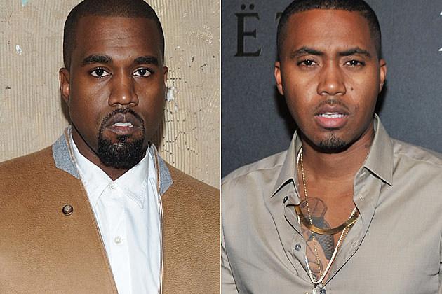 Kanye West Nas