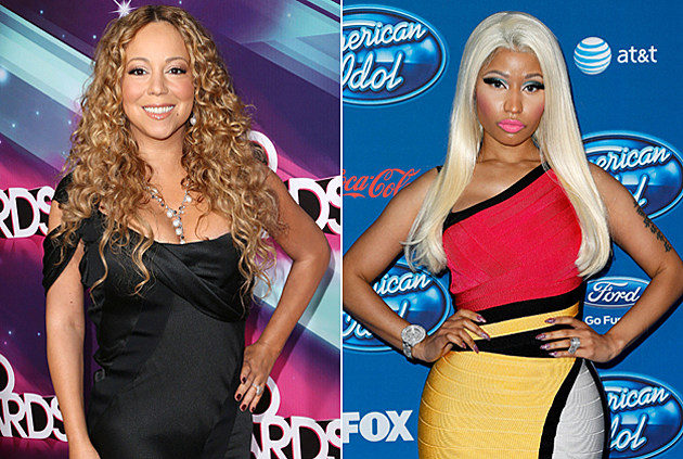 Mariah Carey Nicki Minaj American Idol