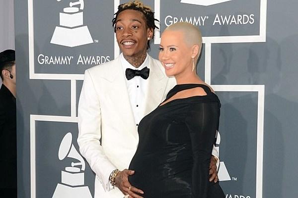 Wiz Khalifa, Amber Rose Welcome Baby Boy Sebastian 'The ...  Wiz Khalifa, Am...