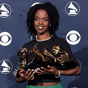 Image result for lauryn hill  wins five grammy's for her debut album