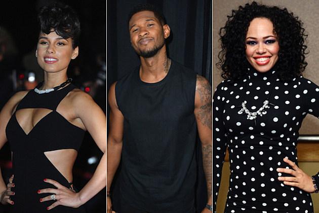 Alicia Keys Usher Elle Varner