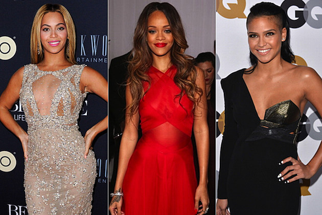 Beyonce Rihanna Cassie