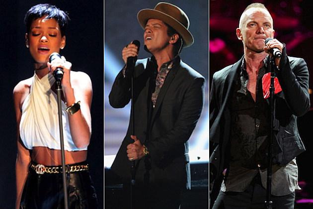 Rihanna Bruno Mars Sting