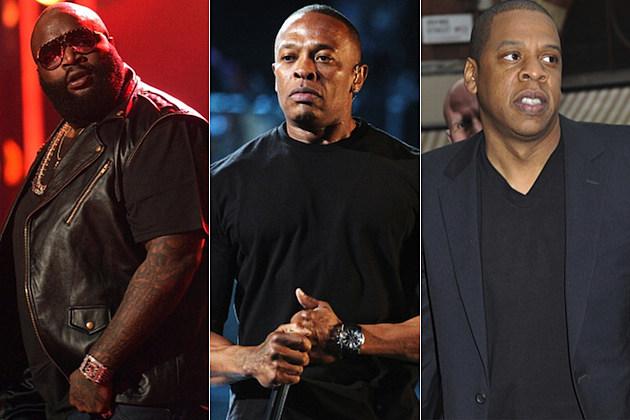 Rick Ross Dr. Dre Jay-Z