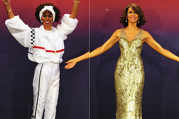 Whitney Houston Madame Tussauds