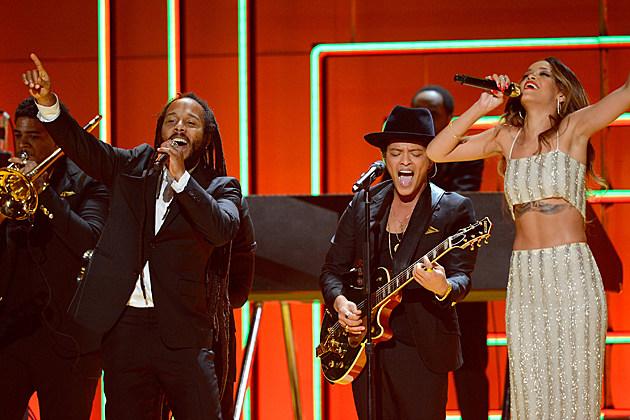Ziggy Marley, Bruno Mars, Rihanna