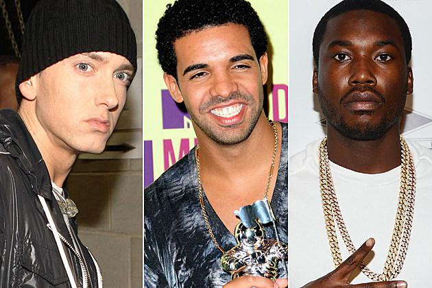 Eminem Drake Meek Mill