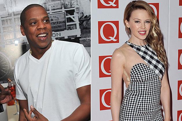 Jay-Z Kylie Minogue