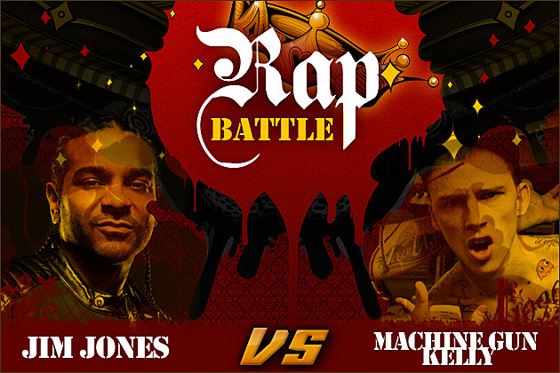 Jim Jones Machine Gun Kelly Rap Battle