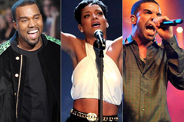 Kanye West Rihanna Drake