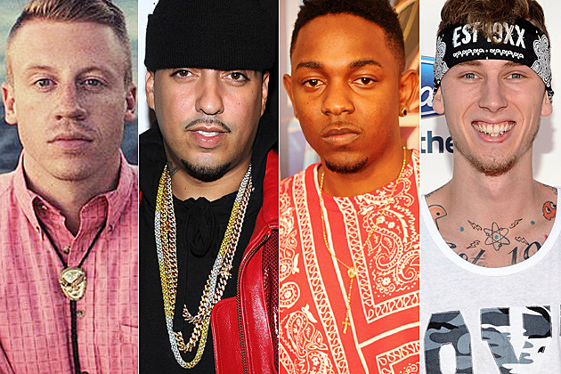 Macklemore French Montana Kendrick Lamar Machine Gun Kelly