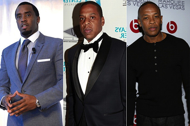 Diddy Jay-Z Dr. Dre