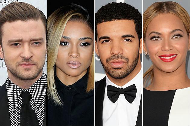 Justin Timberlake Ciara Drake Beyonce Critics Choice:  Billboard Name Ciara, Justin Timberlake, And Drake In 2013s Top 20 Songs List