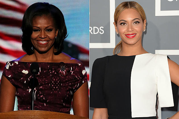 Michelle Obama Beyonce