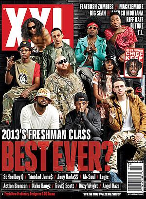 XXL Freshman 2013