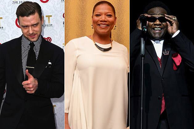 Justin Timberlake Queen Latifah Al Green