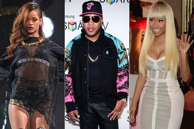 Rihanna Flo Rida Nicki Minaj