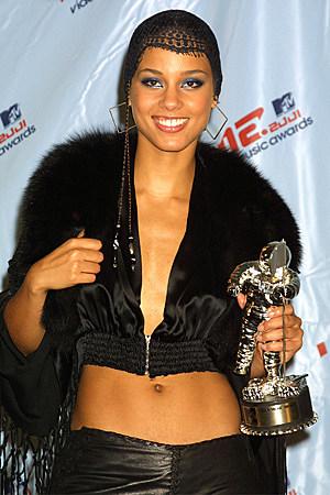 2001 Mtv Video Music Awards Alicia Keys Fashion Evolution