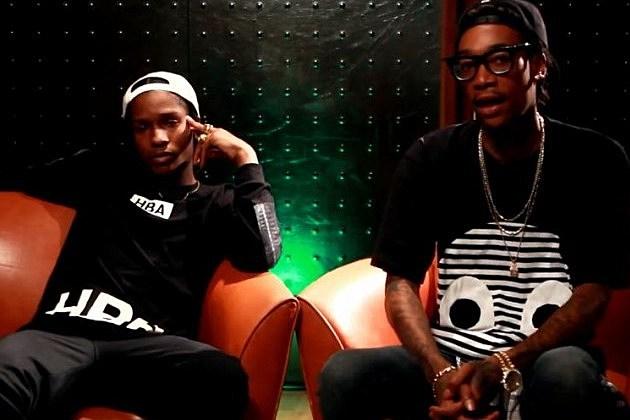 Asap Rocky Wiz Khalifa Tour Lineup