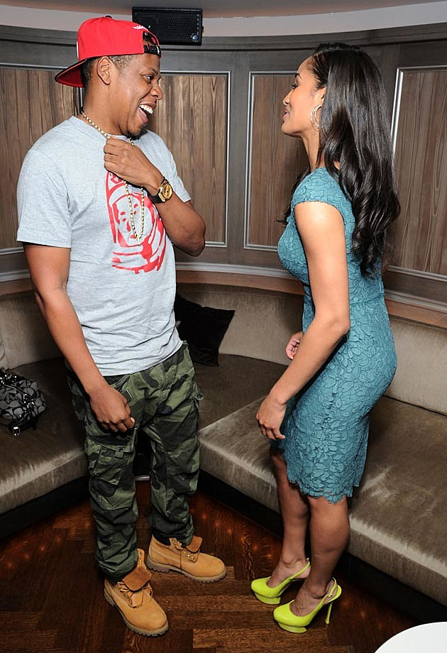 Jay-Z Skylar Diggins Reception