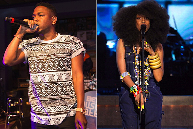 Kendrick Lamar Erykah Badu