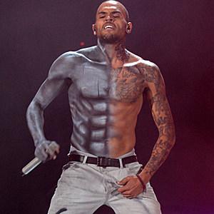 Chris brown body