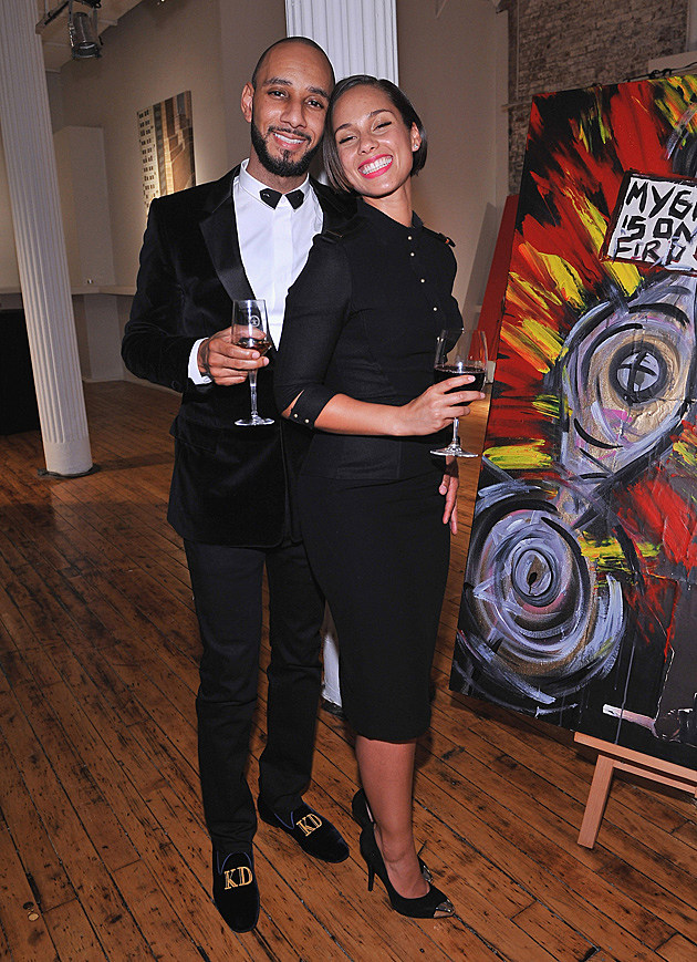 Alicia Keys Swizz Beatz Haute Living