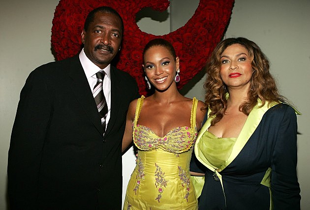 Mathew Knowles Beyonce Tina Knowles