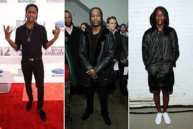 A ap rocky s style evolution photos