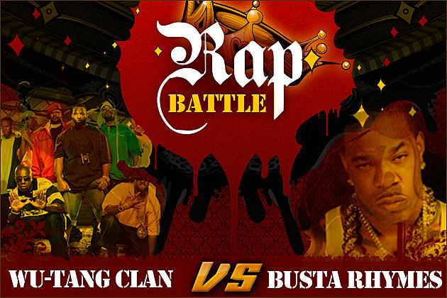 Wu-Tang Clan Busta Rhymes