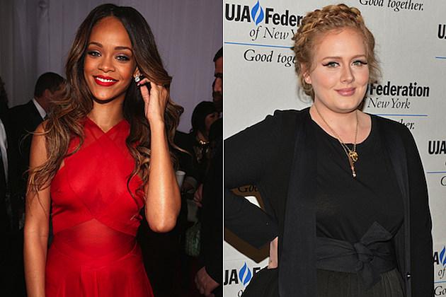 Rihanna Adele
