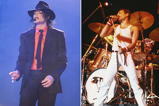 Michael Jackson Freddy Mercury
