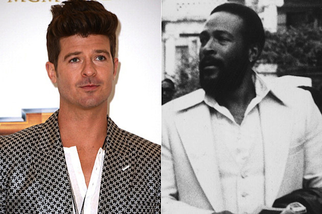 Robin Thicke Marvin Gaye