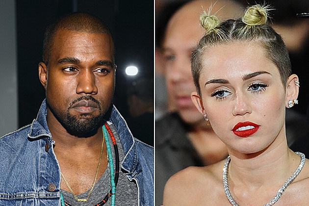 Kanye West Miley Cyrus