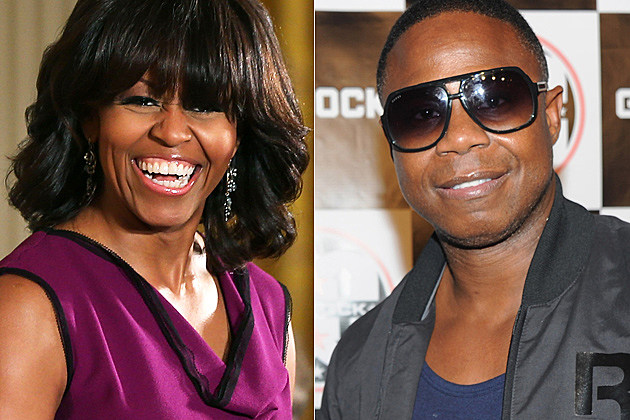 Michelle Obama Doug E. Fresh