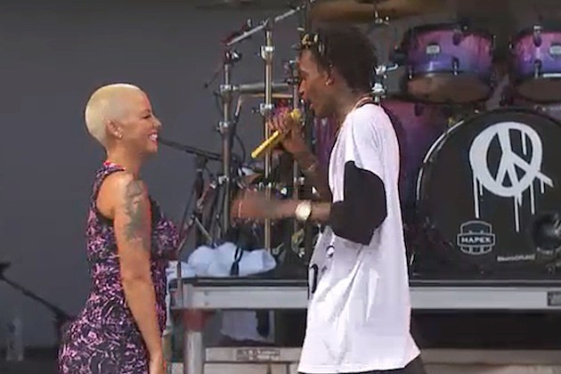 Amber Rose Wiz Khalifa Made In America