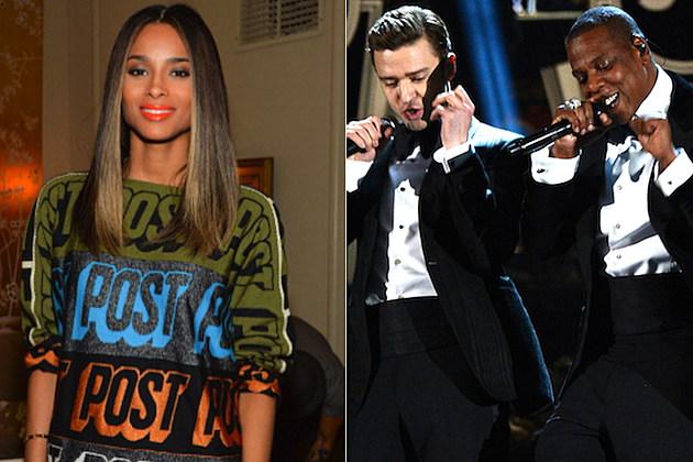 Ciara Justin Timberlake Jay-Z