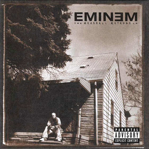 Eminem Unveils 'The Marshall Mathers LP 2′ Cover