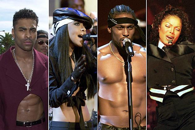 Ginuwine Aaliyah D'angelo Janet Jackson