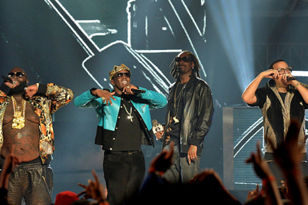 Rick Ross Diddy Snoop Dogg French Montana