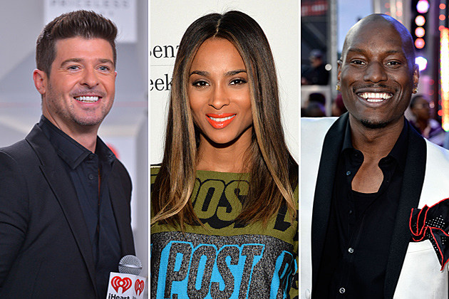 Robin Thicke Ciara Tyrese